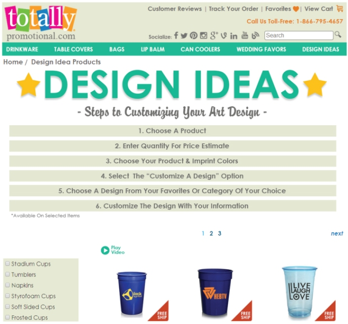 Design-Ideas-Product-Page